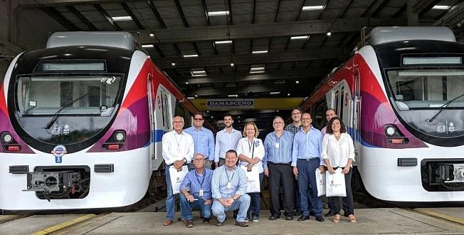 Metrô de Salvador recebe visita do Consulado da Argentina na Bahia