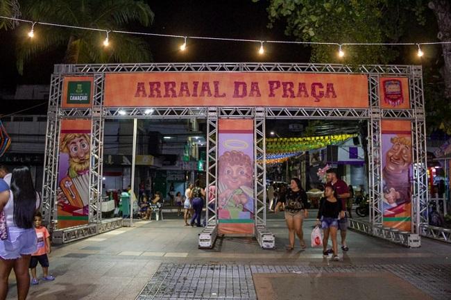 Camaçari oferece forró na Praça Abrantes até sábado, dia de São Pedro