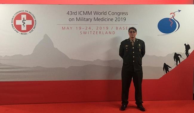 Oficial brasileiro conquista prêmio no Congresso Internacional de Medicina Militar