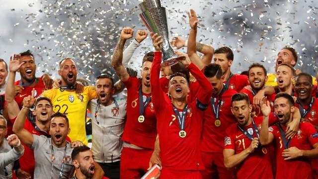 Portugal vence a Holanda por 1 a 0 e conquista a Liga das Nações
