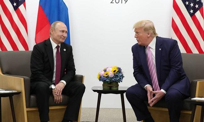 Trump diz a Putin para não se meter nas eleições norte-americanas