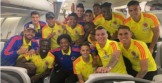 Seleções da Colômbia e da Argentina já estão em Salvador para a Copa América