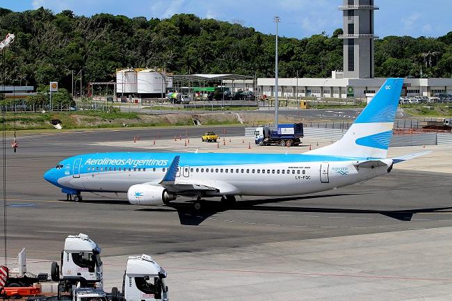 Aerolíneas Argentinas aumenta sua presença em Salvador