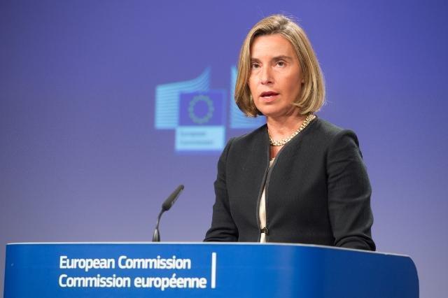 União Europeia pede ao Irã a libertação de navio britânico