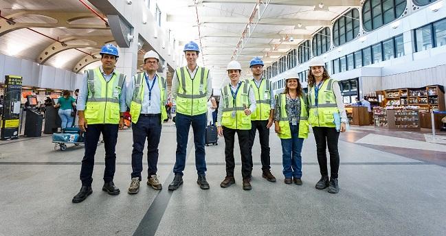 Secretaria Nacional de Aviação Civil inspeciona obras no aeroporto de Salvador