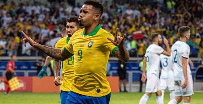 Brasil vence a Argentina por 2 a 0 e vai à final da Copa América; veja os gols