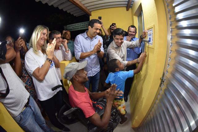 ACM Neto autoriza obras do Morar Melhor em São Tomé de Paripe