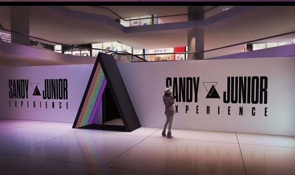 """Shopping Paralela recebe a exposição """"Sandy e Junior Experience"""""""