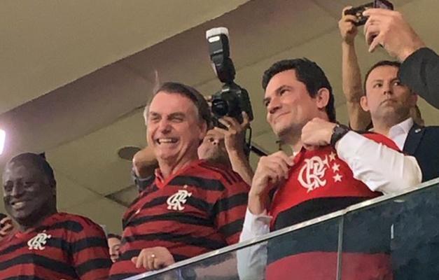 Bolsonaro e Moro irão à final da Copa América no Maracanã