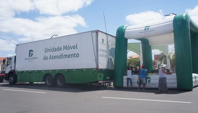 Defensoria Móvel oferece serviços gratuitos em Salvador e no interior; confira