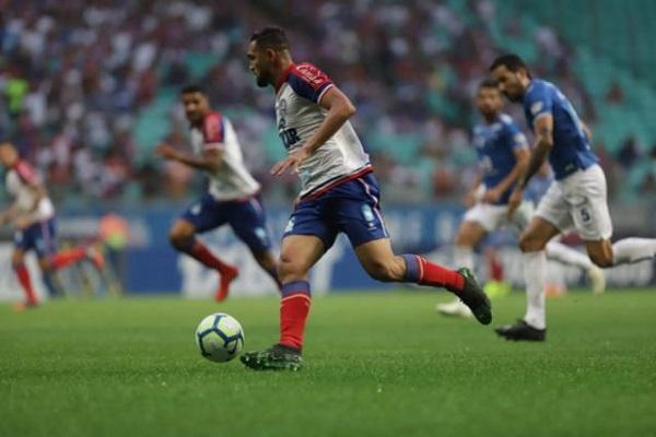 Bahia e reservas do Cruzeiro ficam no 0 a 0 na Fonte Nova