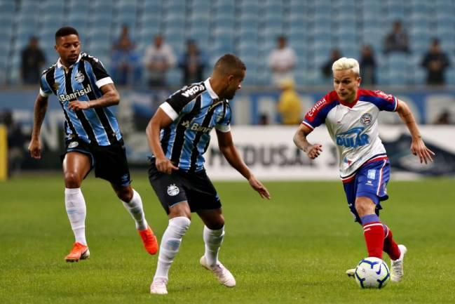 Grêmio e Bahia empatam em 1 a 1 pela Copa do Brasil; veja os gols