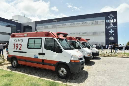 Prefeitura de Salvador envia ambulâncias para atender vítimas de rompimento de barragem