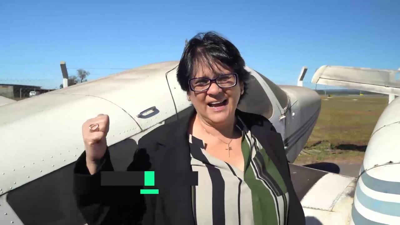 """Damares denuncia """"cemitério de aviões"""" da Funai com dívida de R$ 3 milhões"""