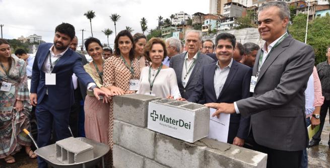Hospital da Rede Mater Dei vai gerar 4,5 mil empregos em Salvador