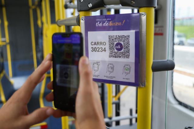 Aplicativo de transporte testado na Semana do Clima dispensa cartões de passagem
