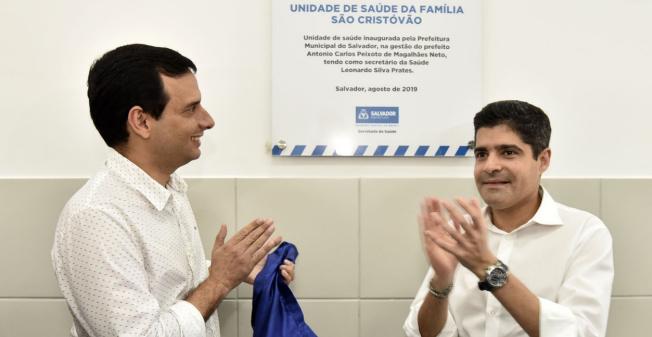 Após convocar novos médicos, Prefeitura de Salvador inaugura posto em São Cristóvão