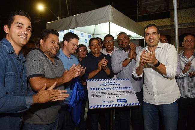 Bruno Reis entrega espaço de convivência revitalizado em São João do Cabrito