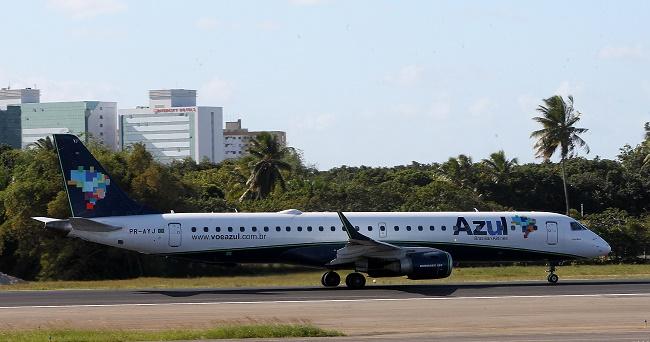 Azul Linhas Aéreas começa a operar rota Salvador-Aracaju