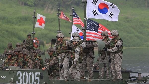 Coreia do Sul e EUA iniciam exercícios militares nesta segunda