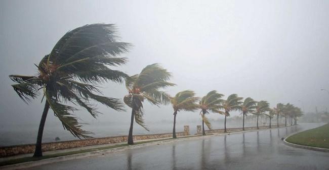 Frente fria provoca chuvas e ventania no litoral da Bahia