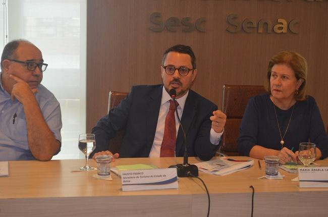 Fausto Franco apresenta balanço positivo de seis meses à frente da Setur