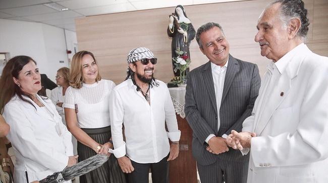 Bell Marques inaugura novo prédio do Hospital Aristides Maltez