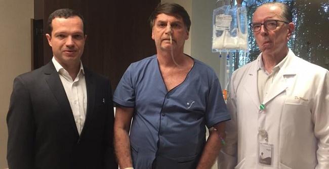 Em live, Bolsonaro agradece a médicos que o atenderam após sofrer atentado