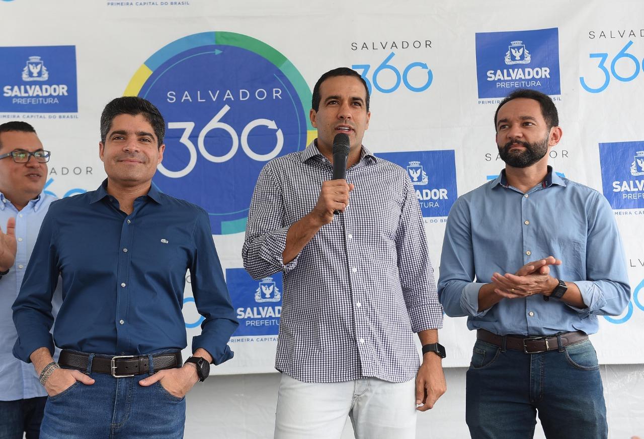 """""""Estamos investindo quase R$ 400 milhões para revitalizar o Centro Histórico"""", afirma Bruno Reis"""