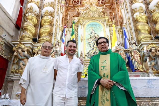Memorial da Basílica N. Sra. da Conceição da Praia será aberto para visitação
