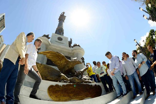 Monumento ao Dois de Julho é entregue restaurado às vésperas do Sete de Setembro