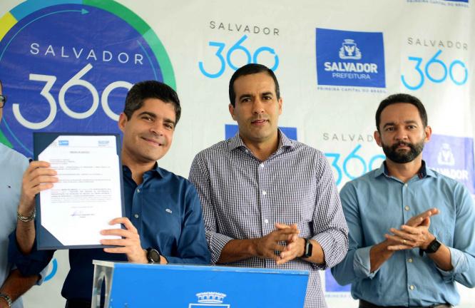 Salvador terá suas muralhas requalificadas pela primeira vez