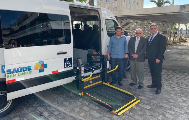 IBR ganha automóvel para transporte de pessoas com deficiência
