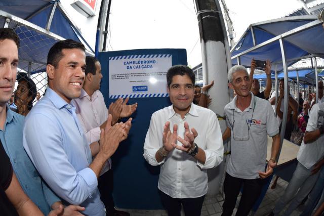 Prefeitura inaugura novo camelódromo na Calçada