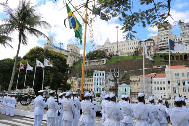 Cerimônia da Bandeira no 2o Distrito Naval será mais um atrativo para turistas em Salvador