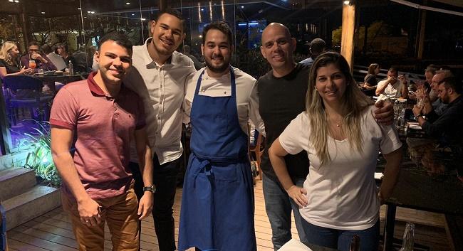 Chefs realizam encontro no M'ar Gastronomia da Bahia Marina
