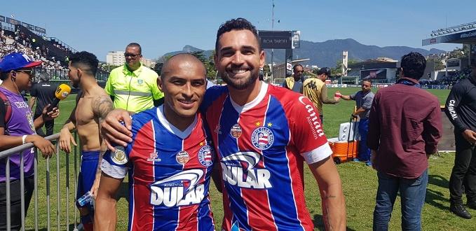 Bahia vence o Vasco por 2 a 0 em São Januário; veja os gols