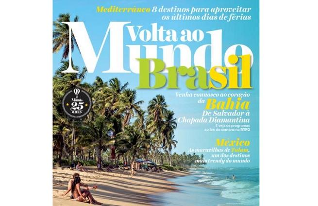 Salvador protagoniza série da revista portuguesa Volta ao Mundo