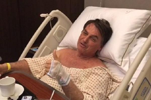 Após distensão abdominal, Bolsonaro passa a se alimentar por sonda nasogástrica