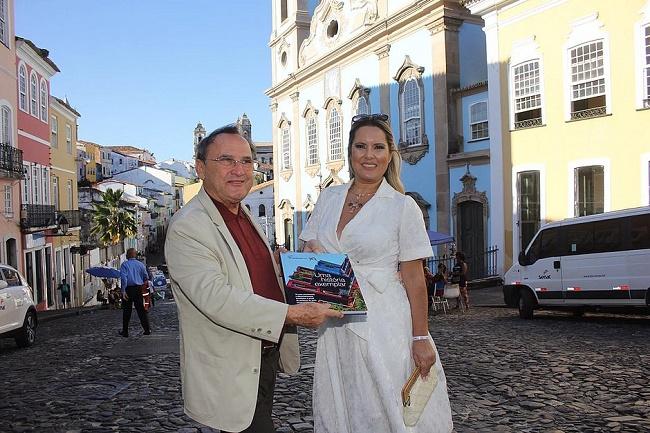 Esposa do vice-presidente Hamilton Mourão visita Salvador