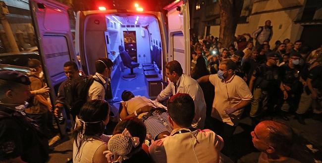 Bolsonaro presta solidariedade a vítimas de incêndio em hospital no Rio de Janeiro