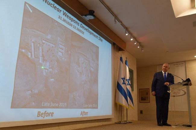 Israel revela suposto local onde Irã conduz testes com armas nucleares