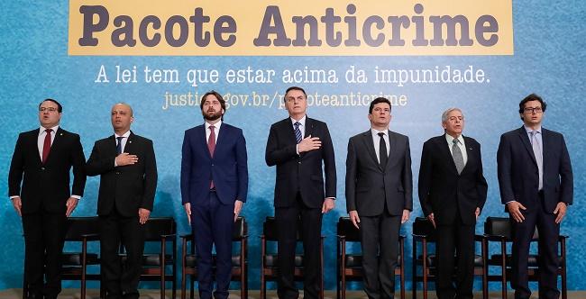 Bolsonaro e Moro lançam campanha pela aprovação do Pacote Anticrime