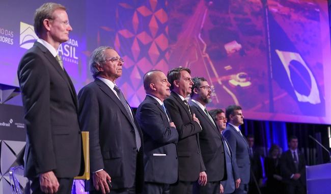 Bolsonaro e Guedes participam do Fórum de Investimentos Brasil 2019