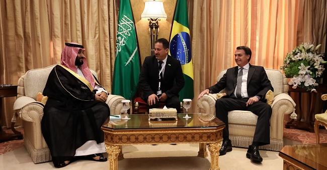 Bolsonaro diz que fundo soberano árabe quer elevar investimento no Brasil