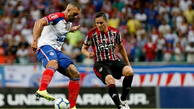 Bahia e São Paulo ficam no 0 a 0 na Arena Fonte Nova