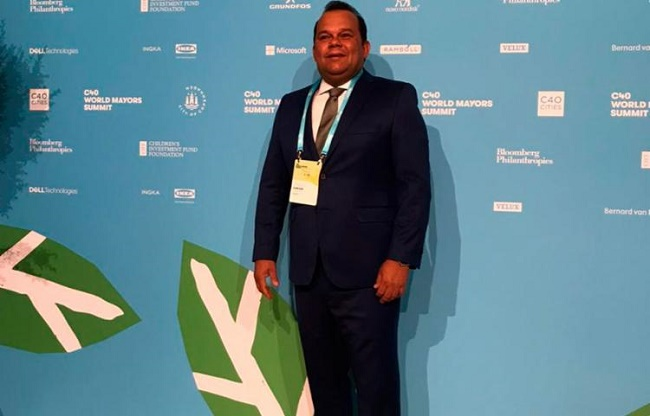 Geraldo Jr. participa de reunião do Grupo C40 na Dinamarca