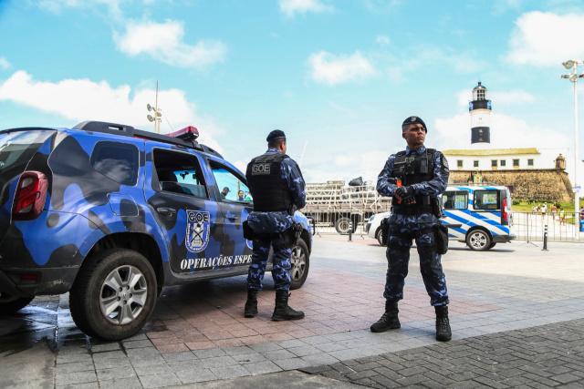 Base da Guarda Civil na Barra impede dois assaltos e registra mais de 70 atendimentos