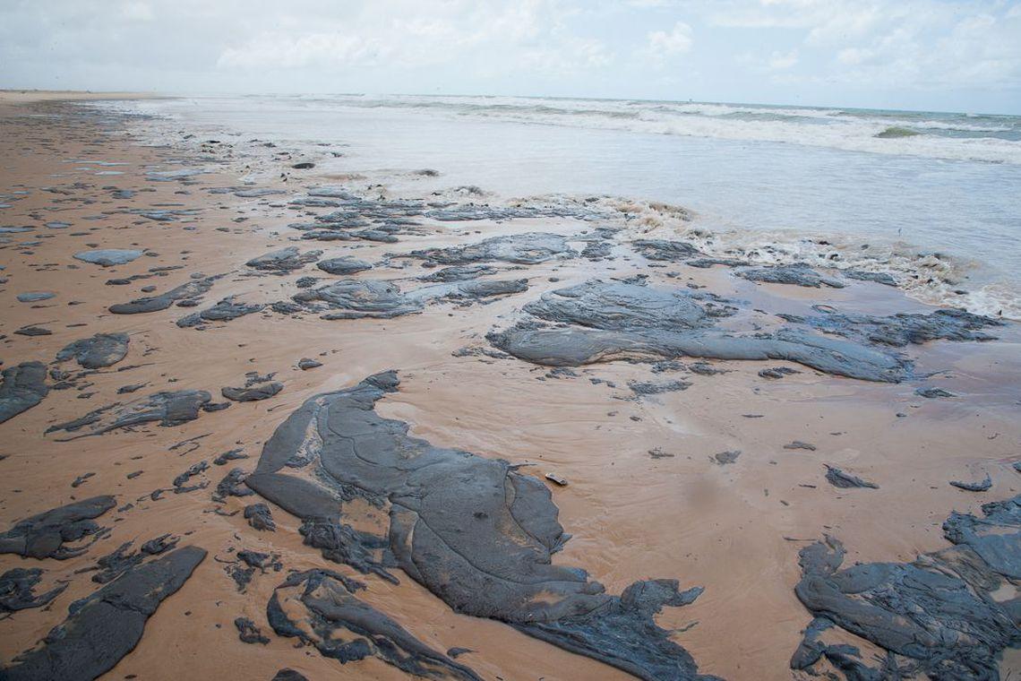 PF investiga possível crime ambiental no litoral do Nordeste