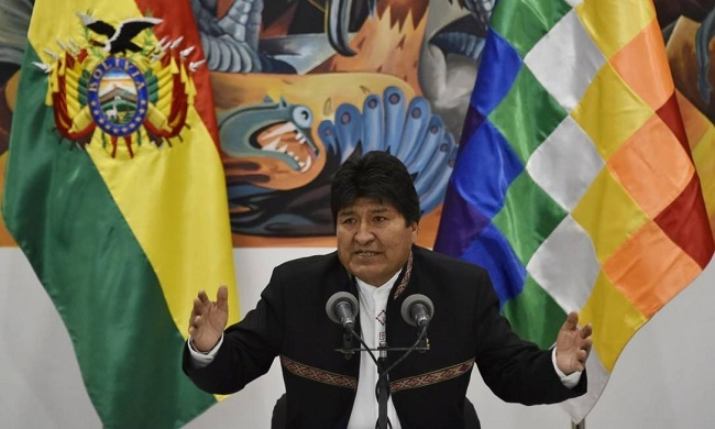 Evo convoca novas eleições presidenciais na Bolívia